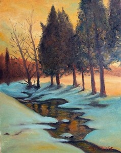 snow_sunset_oil_painting